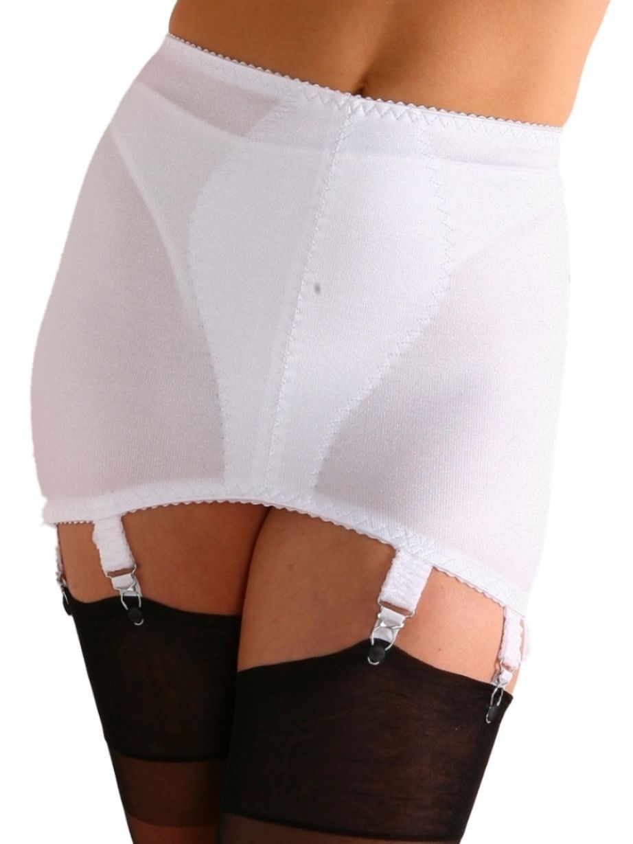 219a6a7403b Premier Lingerie 8 Strap Vintage Style Shapewear Girdle With Garters  (Ndg8Usa)