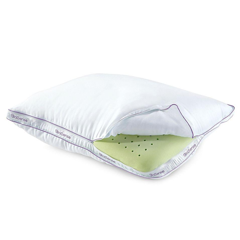 Brookstone Biosense Memory Foam Classic King Pillow With Better