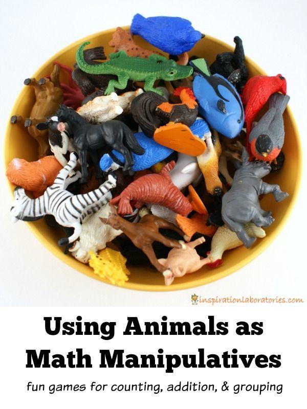 Animal Math Manipulatives | Math manipulatives ...