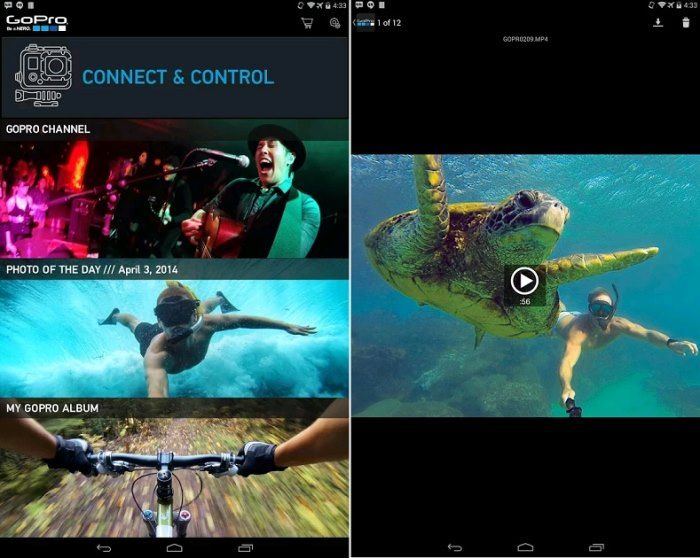 Descargar GoPro App para celulares Android Movie posters