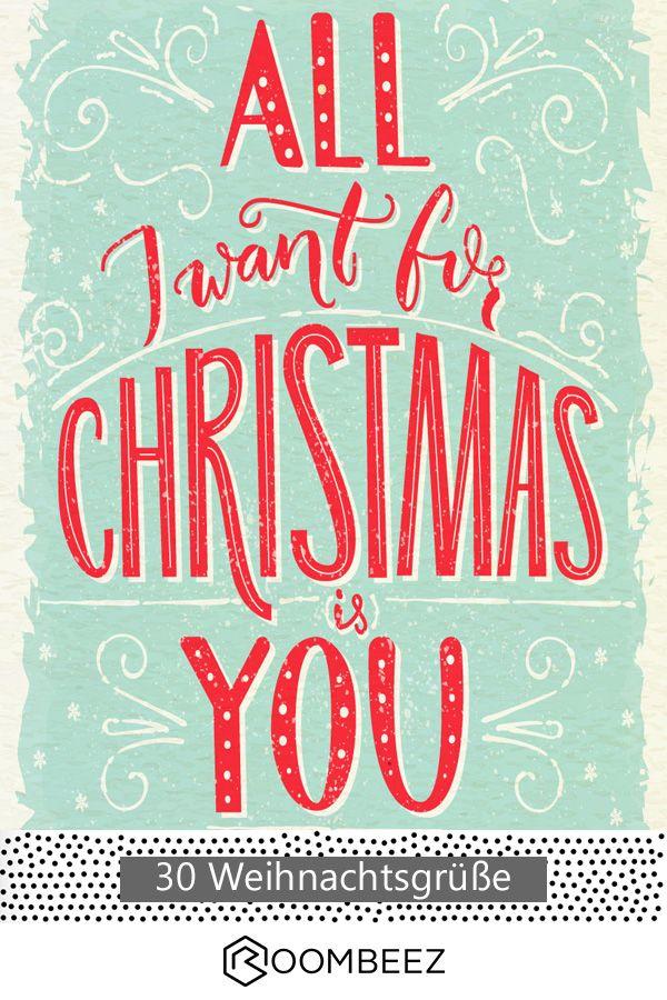 ❤ Weihnachtsgrüße: 20 wunderschöne Karten zum Downloaden ...