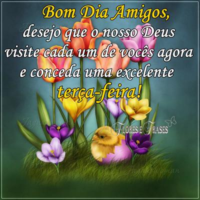 Flores E Frases Bom Dia Amigos Dias Da Semana Pinterest