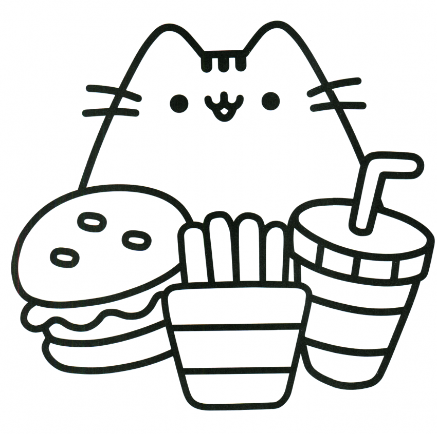 Cat Coloring Pages Cute Pusheen Coloring Pages Unicorn Coloring Pages Cool Coloring Pages