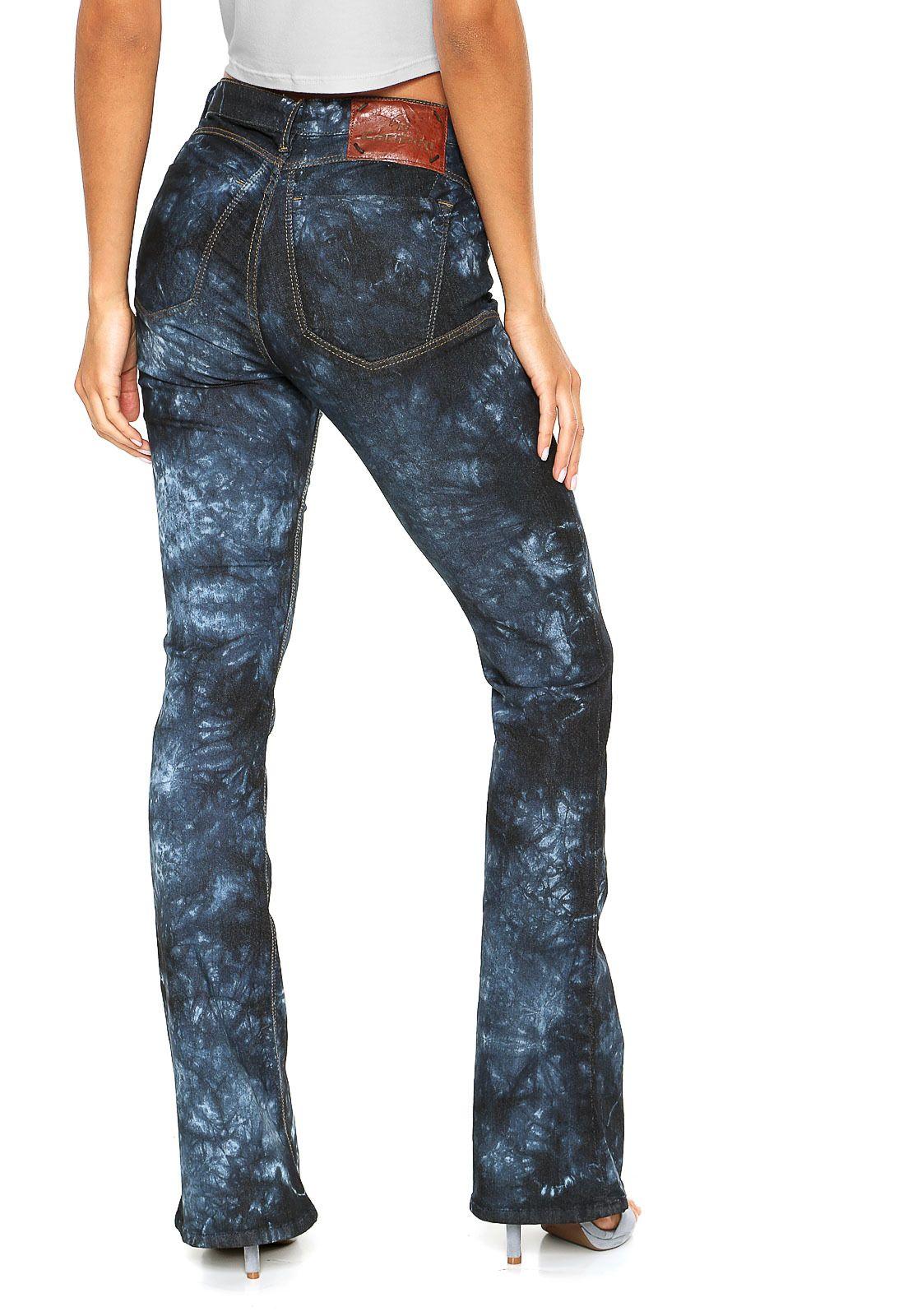 d26f8739c4 Calça Jeans Carmim Bootcut Paola Azul - Marca Carmim