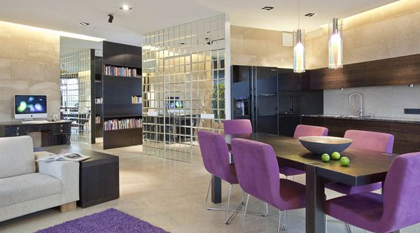 modern kitchens by katarzyna kraszewska very easy for you to add other features such as the utilizing kitchen and added a dining room into a stylish