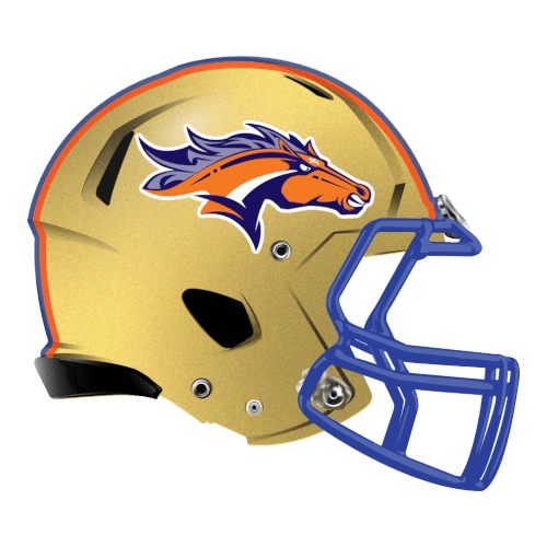 broncos fantasy football Logo helmet (With images
