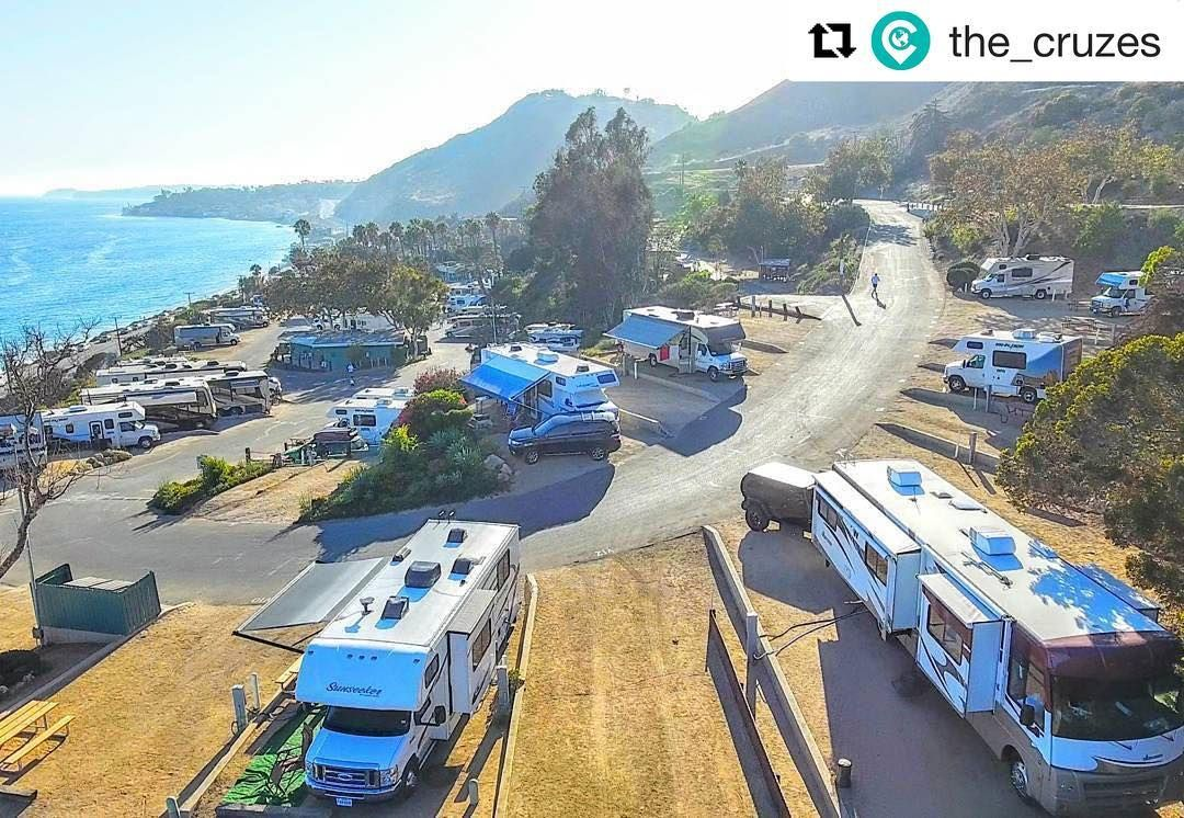 Repost @the_cruzes  with surroundings as such who would want to leave? Not us!! Deciding to extended our stay for a few more days was not a difficult decision!! #wearethecruzes #travelers . . #homeiswhereyouparkit #travel #gorving #dji #quadcopter #dronestagram #phantom #flying #phantom #phantom4
