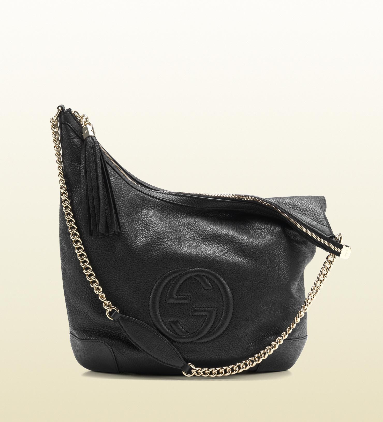 c160dcfb2ee6 Gucci soho leather shoulder bag with chain strap | Bag Obsession ...