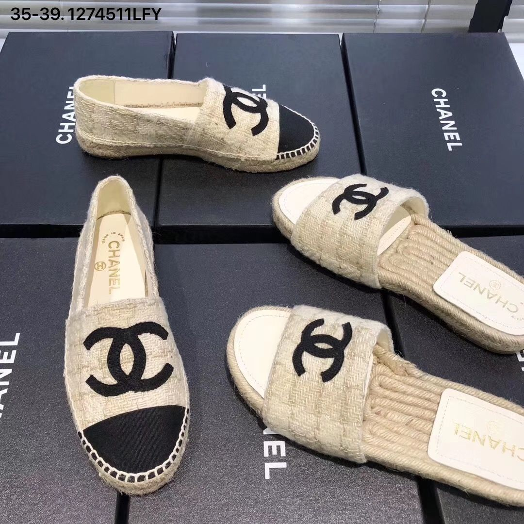 Chanel espadrilles woman 2019 new