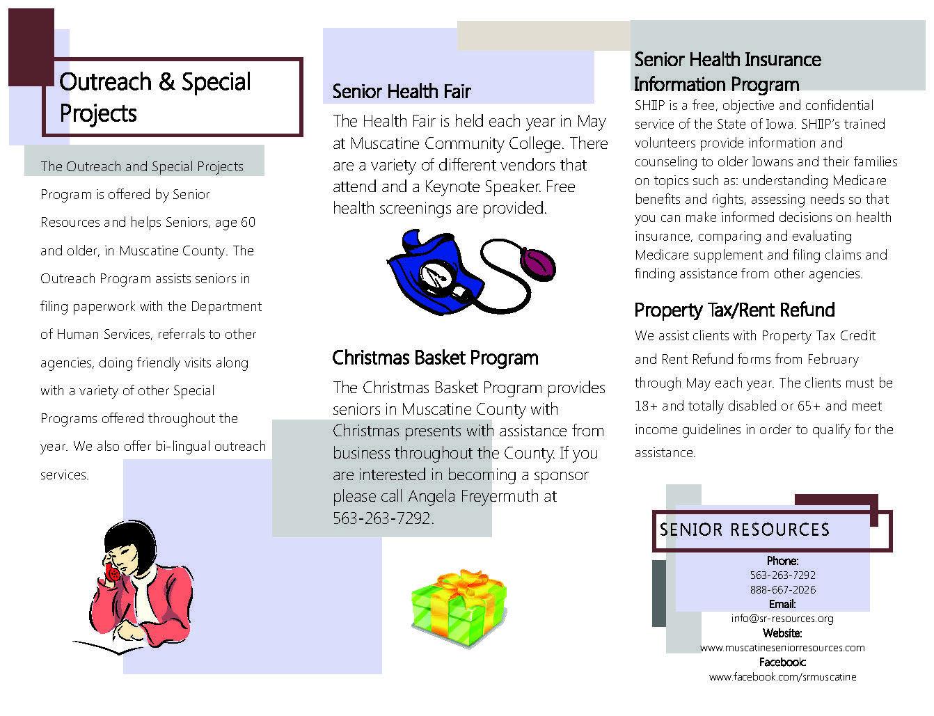 Outreach With Images Senior Health Fair Senior Health Health