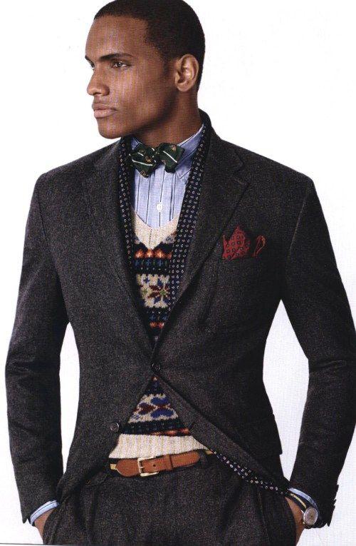 Sweater Style Ralph Fair Isle Polo Tweed SuitMen Lauren; Under In ucKJl1TF3