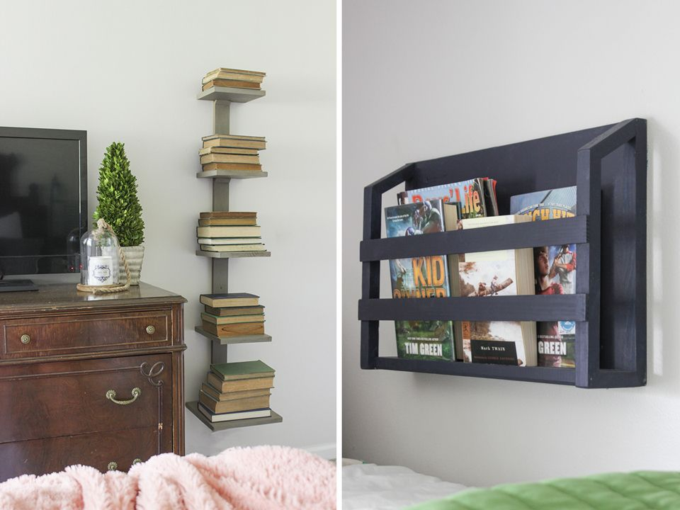9 Creative Ways To Add Storage To A Small Space Bookshelves Diy