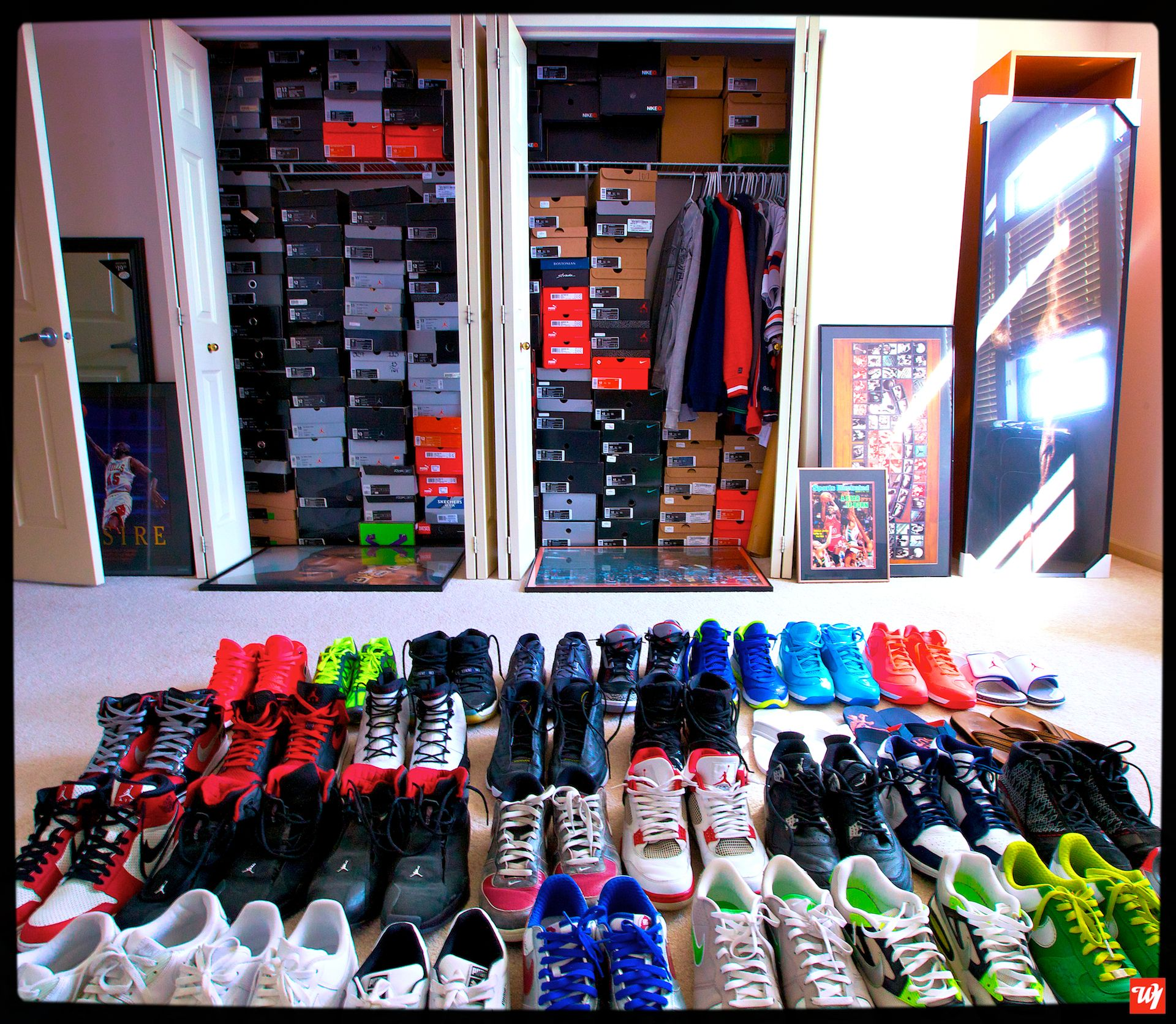 nike air jordan collection 300 pairs sneaker collection
