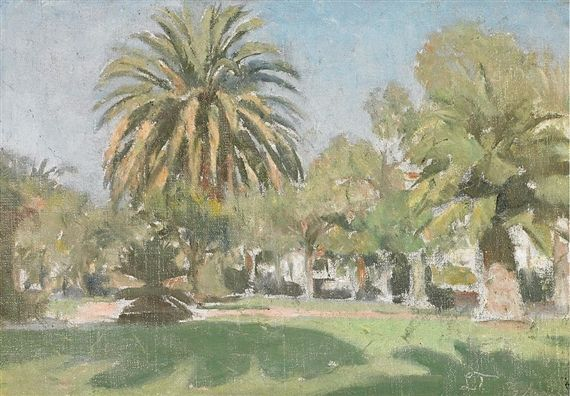 Laurits Tuxen - Park scenery from California
