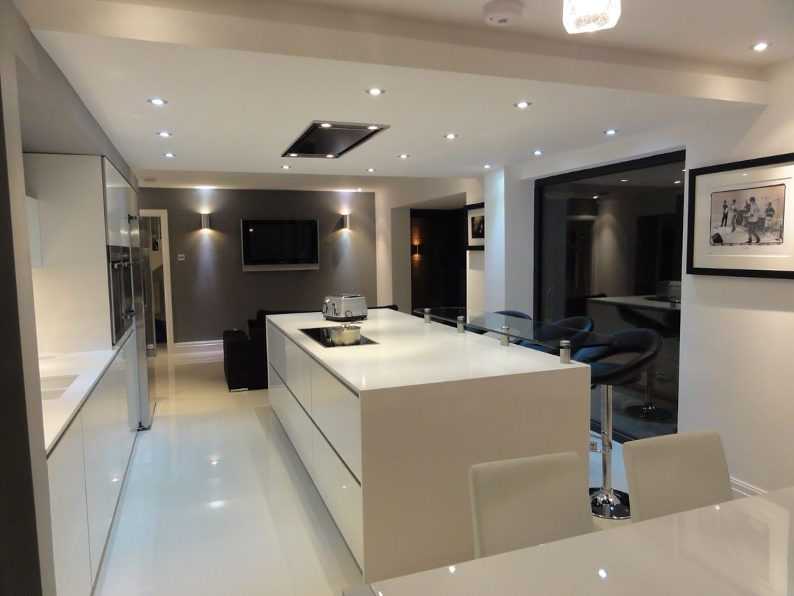 Cucina Moderna White Pin Di Daniela Rodrigues Su Extension Kitchen Kitchen
