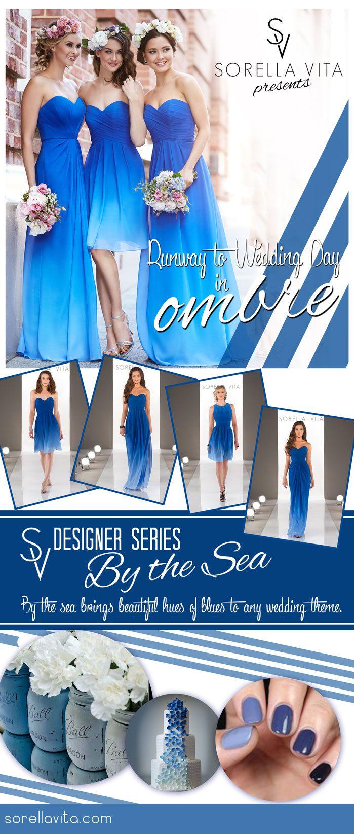 Sorella vita designer series ombre bridesmaiddress available at
