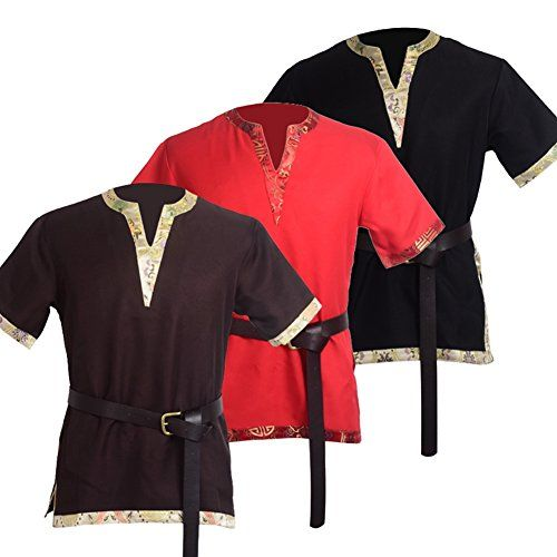 Pin by Birna The Red on LARP costumes | Viking tunic