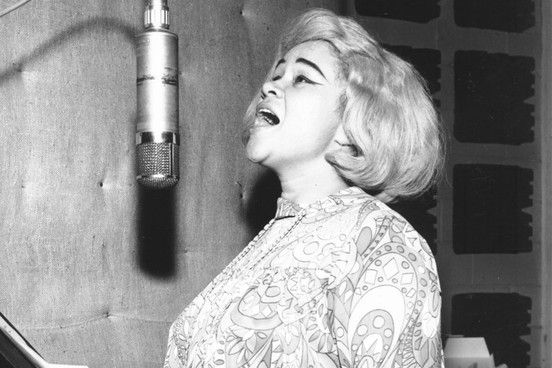 Etta James <3  like i have always said, icons aren't born normal!