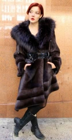 78  images about Fur coats for winter on Pinterest | Coats Silver