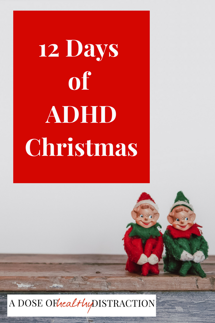 12 Days Of ADHD Christmas | Pinterest | ADHD, Adult adhd and Add adhd