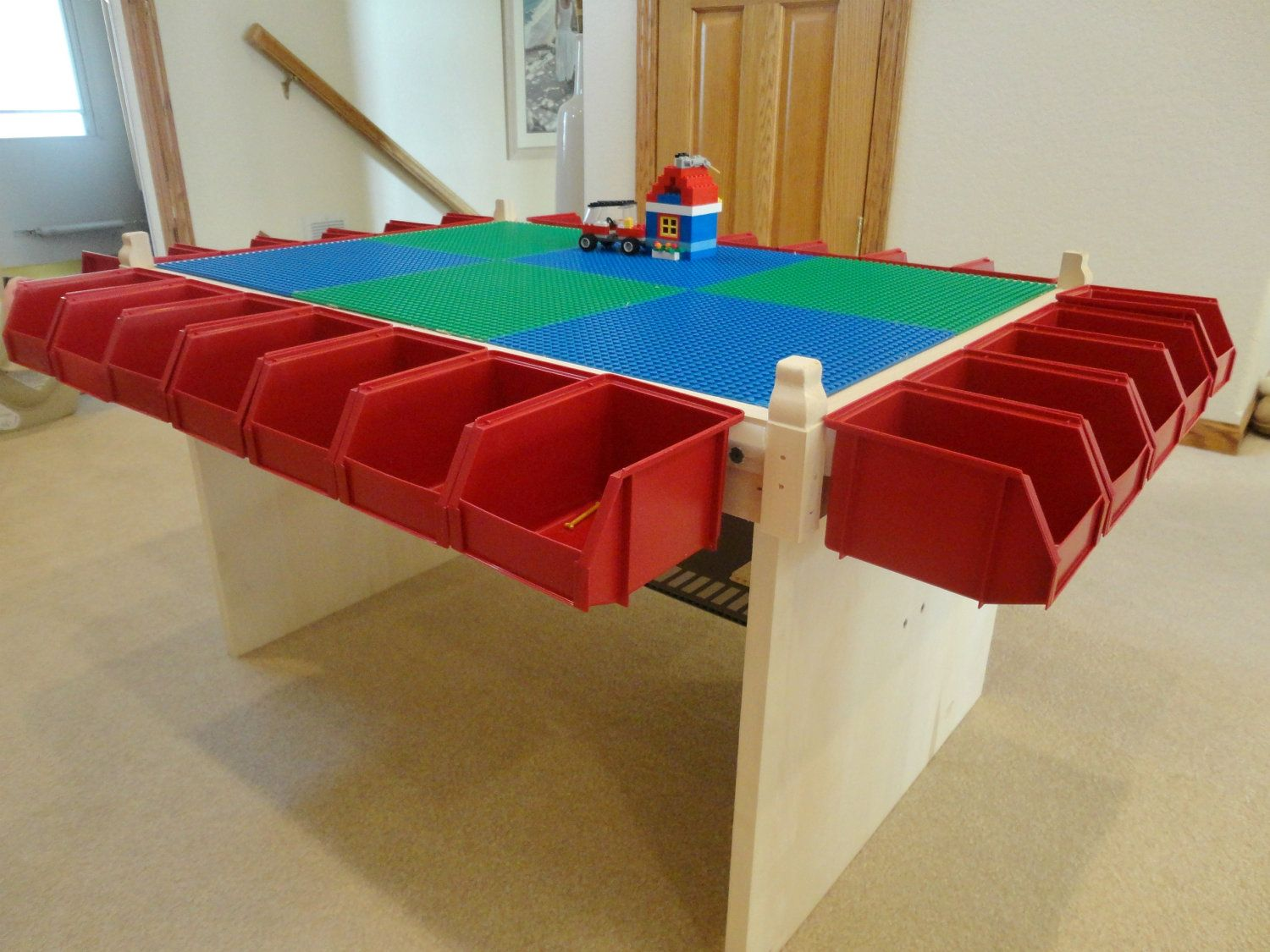 Lego Table Kids Play Table Lots Of Storage Boys Toy