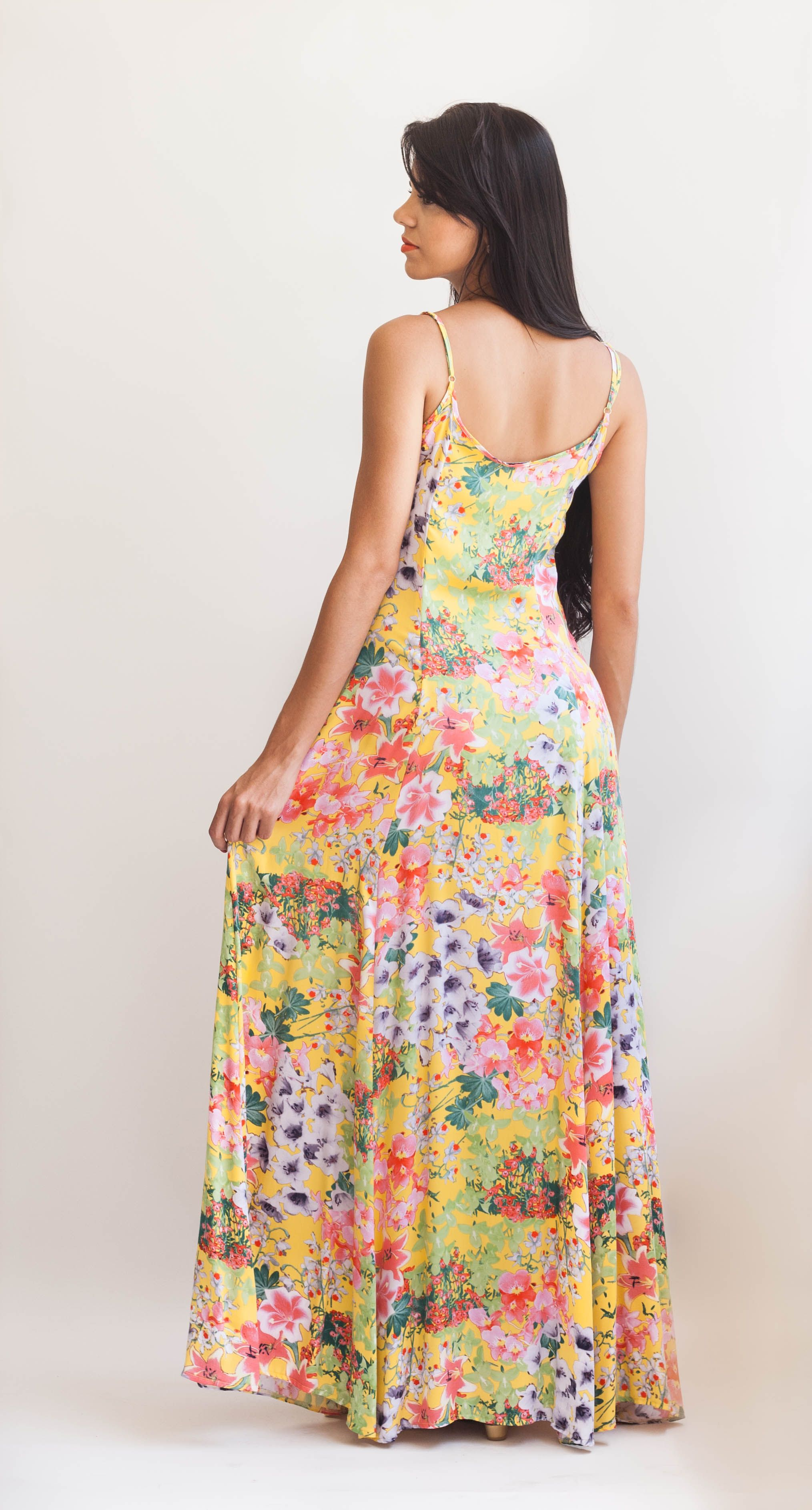 Ateliê Alexandrina - Vestido Longo Estampado | Maxi dress