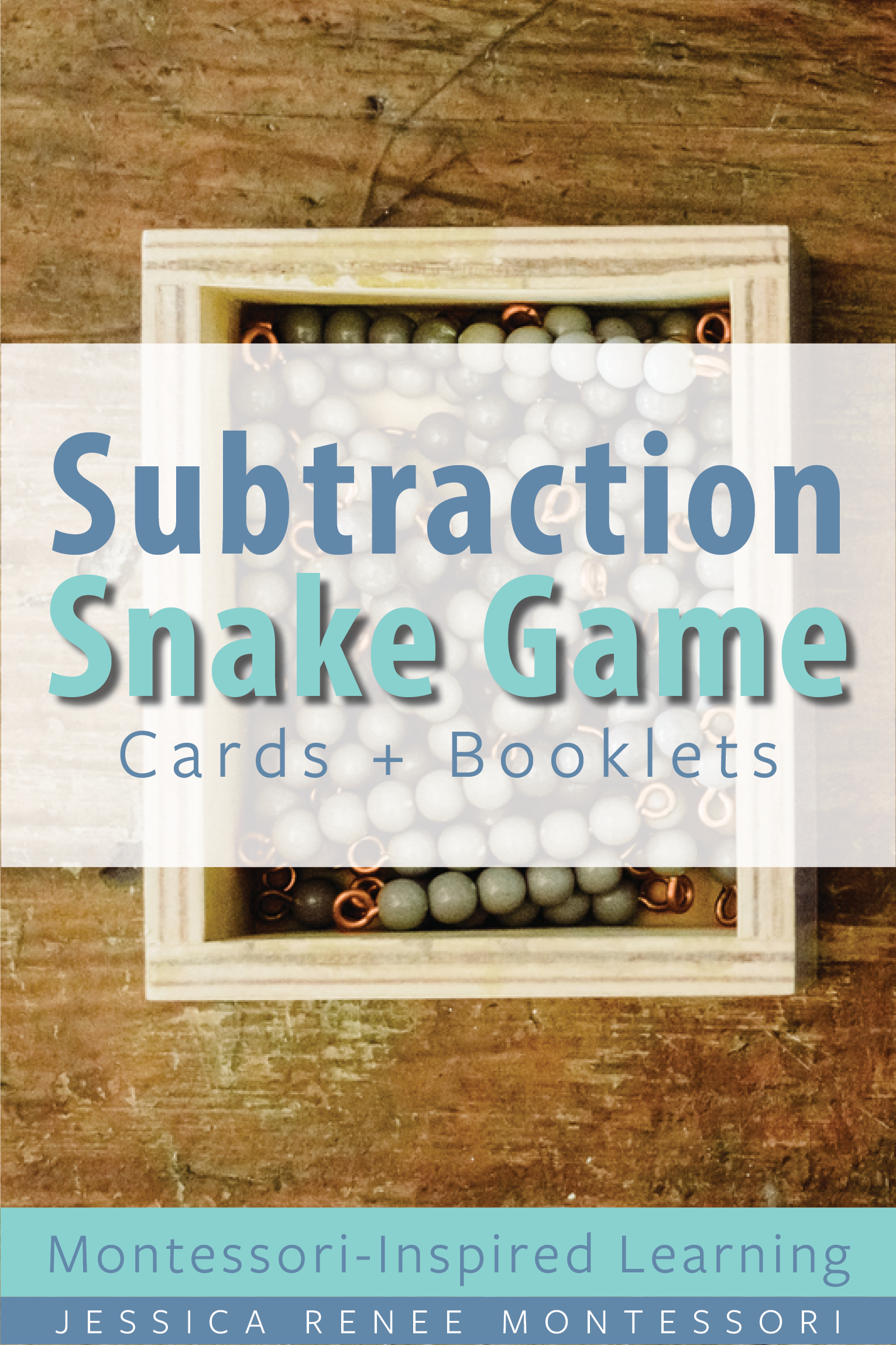 Montessori Math Subtraction Snake Game Bundle For Facts