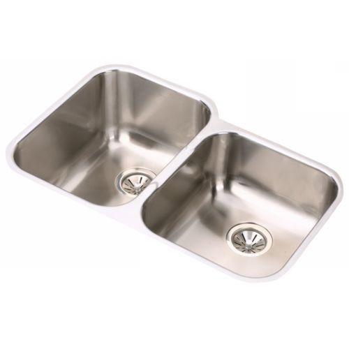 elkay eguh312010r gourmet 31 1 4 double basin 18 gauge stainless rh pinterest co uk