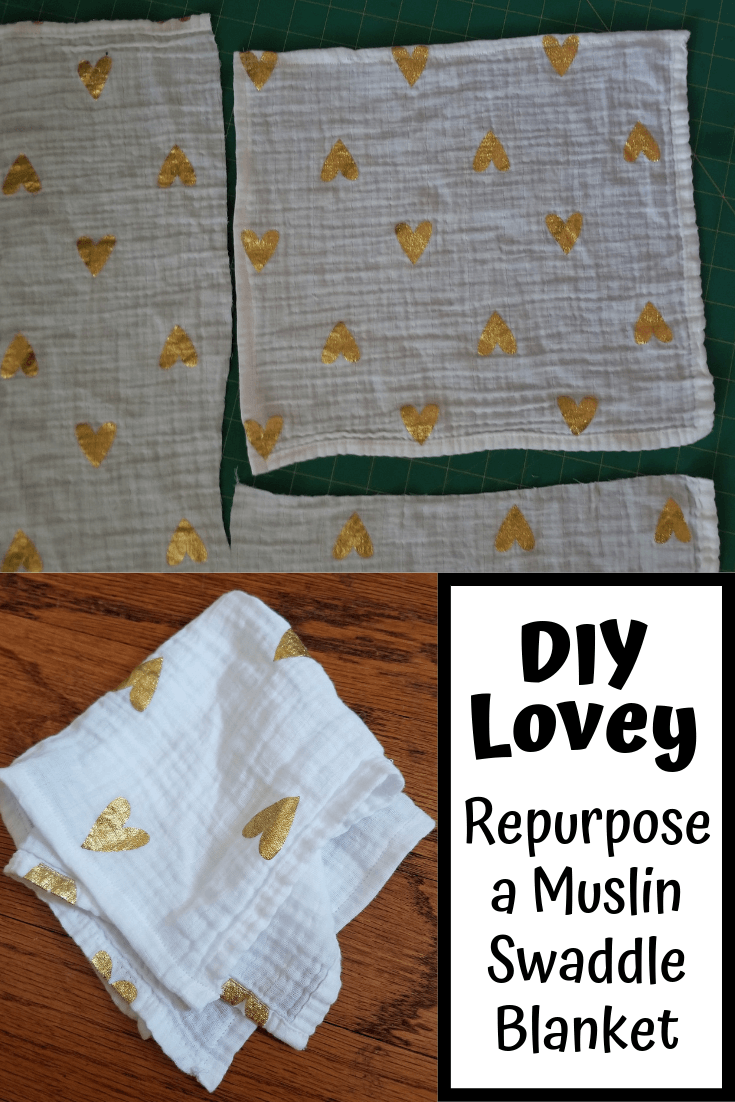 Turn Your Baby's Muslin Swaddle Blanket Into A DIY Lovey