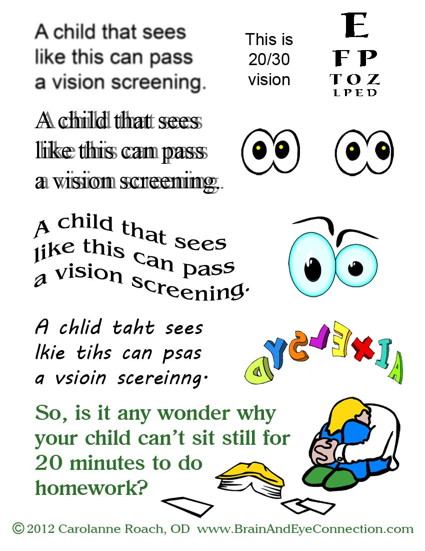 Back to school eye check ups are a must for children