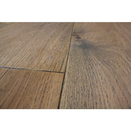 Distressed Church House Plank Flooring With Natural Brushed Finish