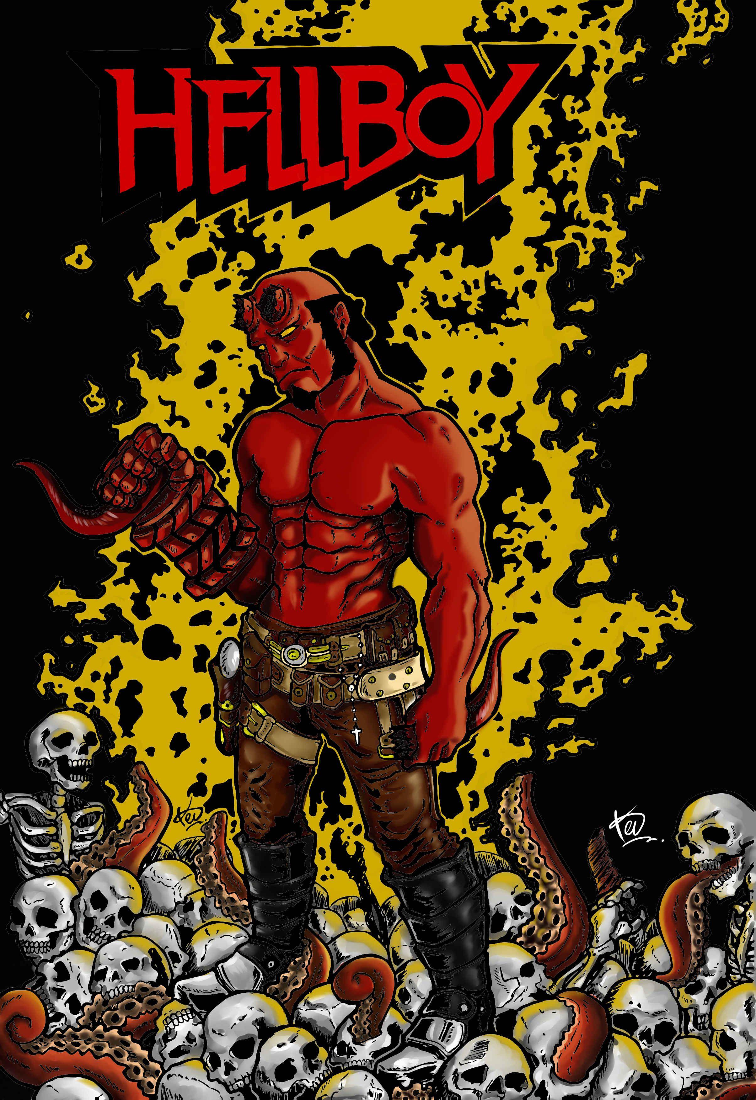 Anung Un Rama #DigitalDraw #HellboyUniverse