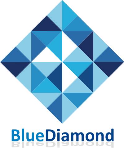 Blue Diamond Logo By 15logo Diamond Logo Blue Diamond Blue