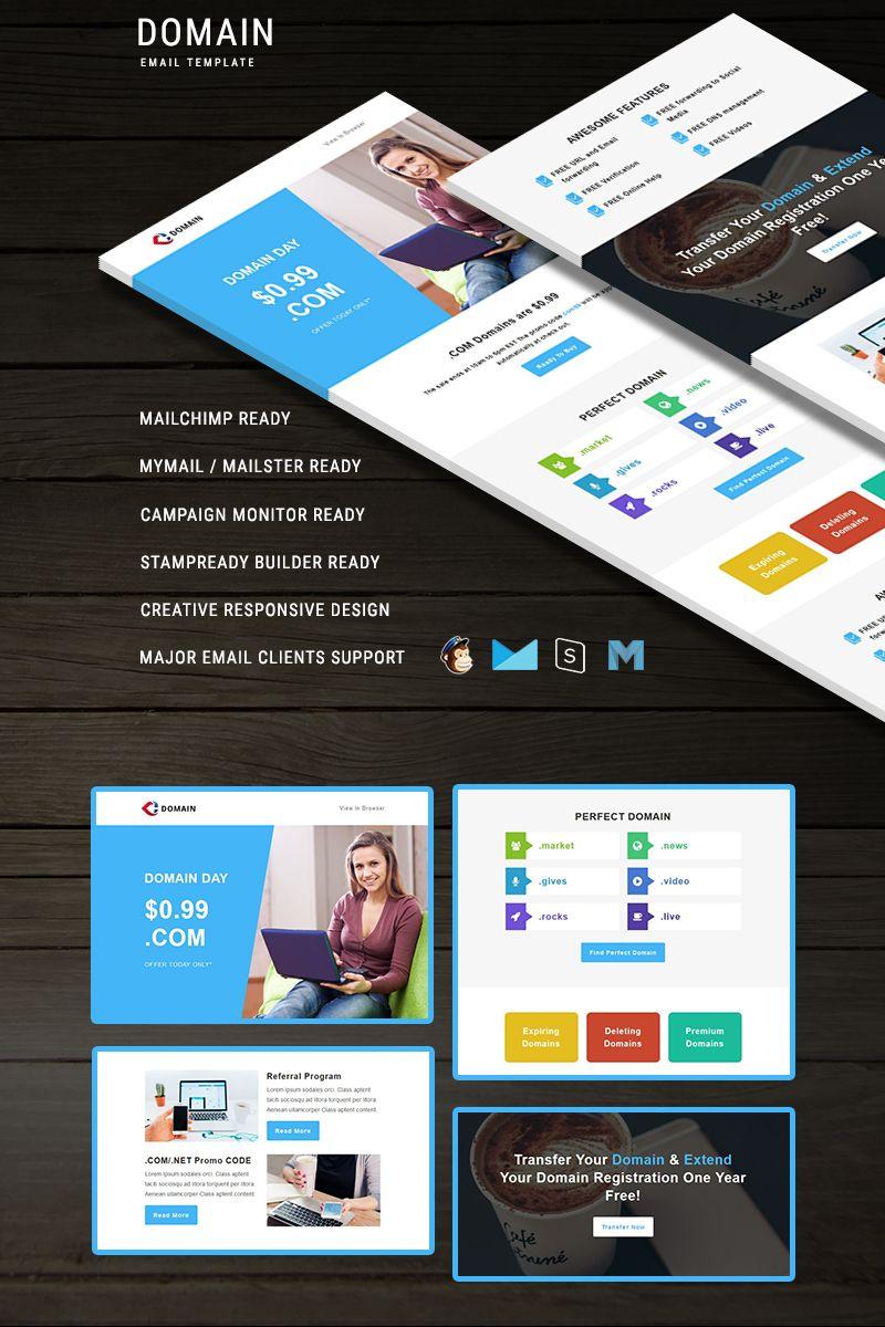 Domain Newsletter Template 66242 Newsletter Templates