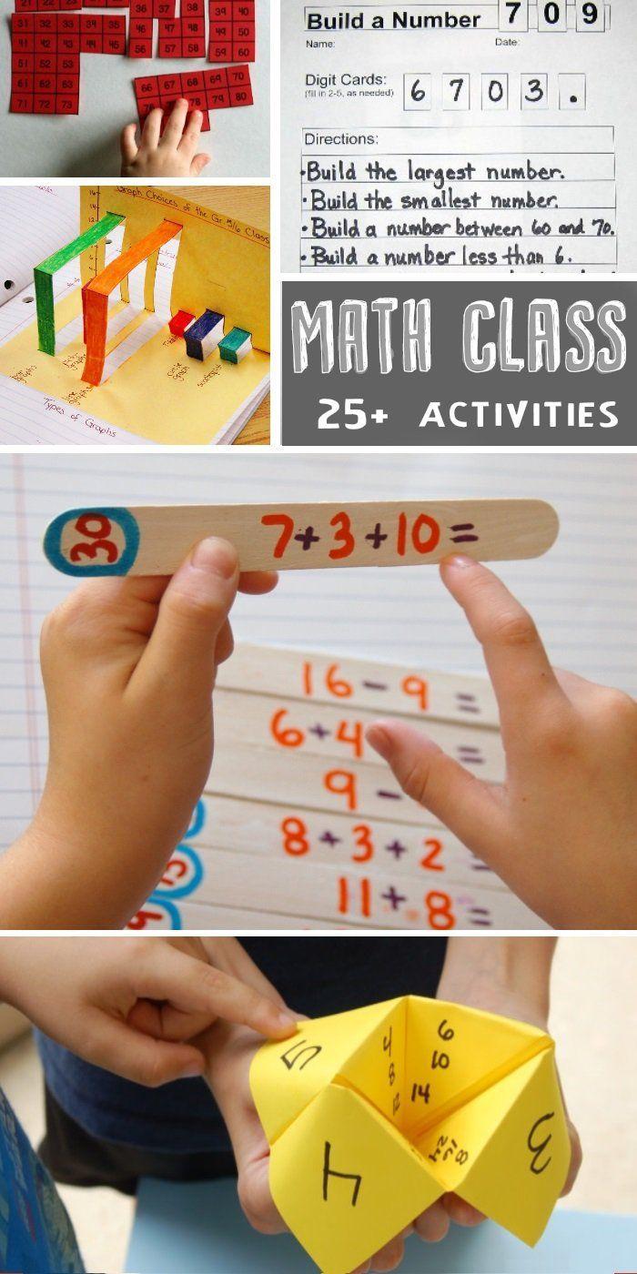 25 Math Activities for Kids who HATE Math | Math activities, Math ...
