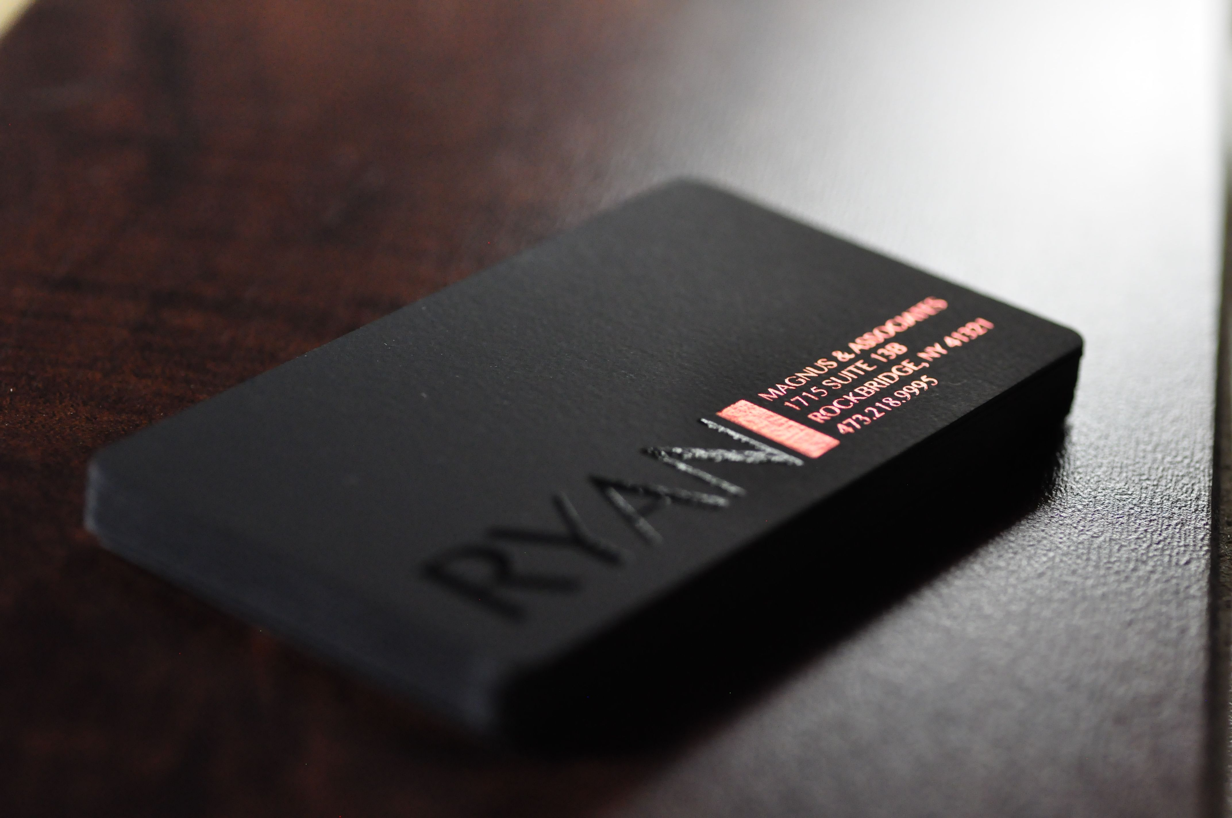 suede soft touch business card - Soft Touch Business Cards