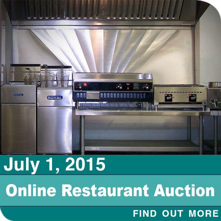 Restaurant Equipment Auction Online Only Restaurant Equipment Restaurant Used Restaurant Equipment