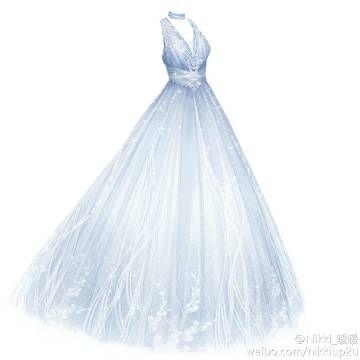 他的热门内容  fashion design drawings fantasy dress dress drawing