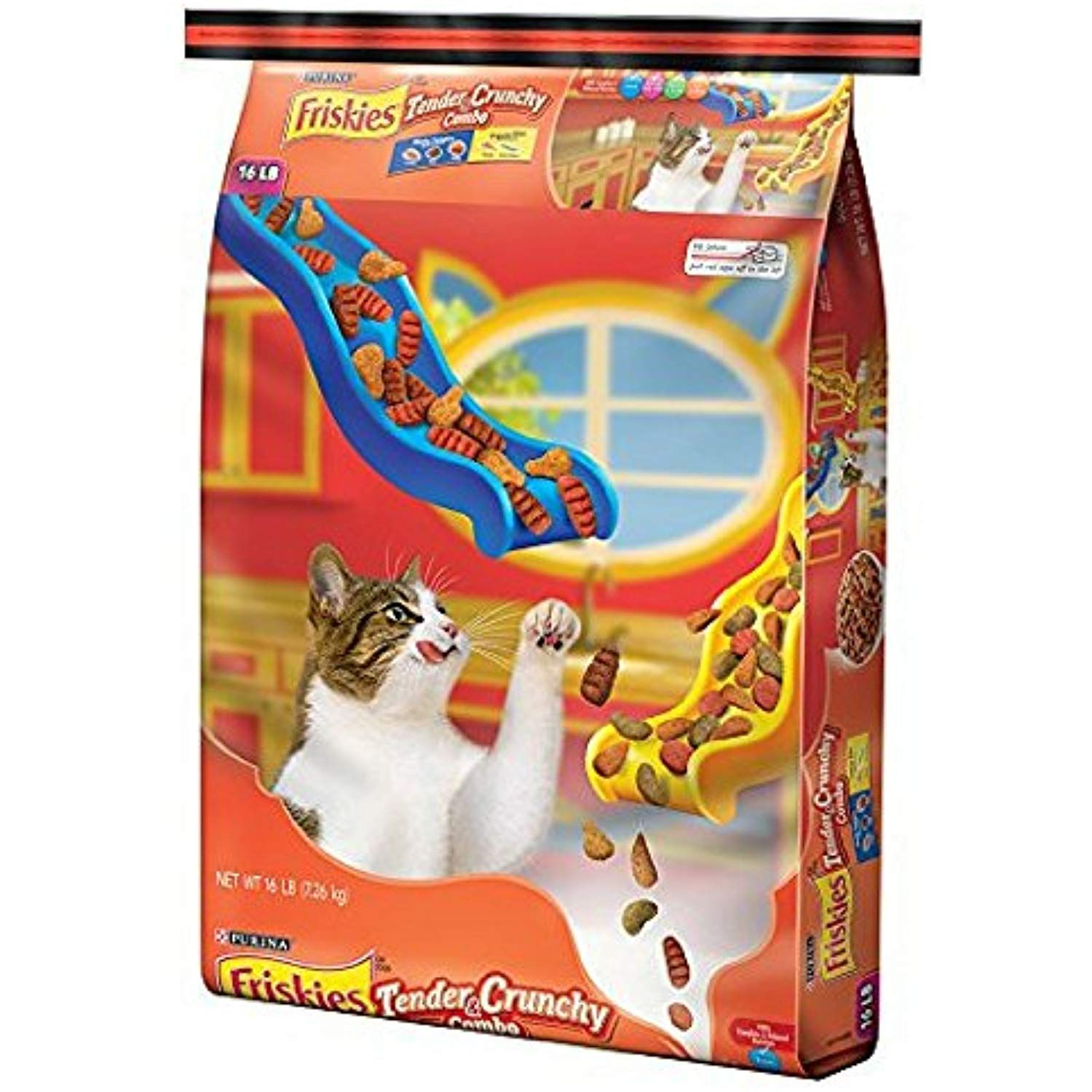 Friskies Dry Cat Food Tender And Crunchy Combo 16 Pound Bag Pack Of 1 Want Additional Info Click On The Image This Is Purina Friskies Friskies Cat Food