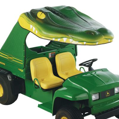See Ya Later Alligator  Fiberglass Canopy for John Deere Gators with Steel Bed  sc 1 st  Pinterest & See Ya Later Alligator