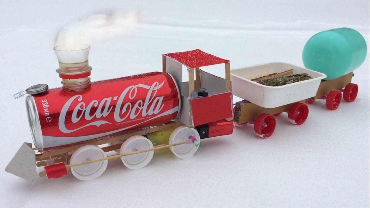 Tanker Christmas Ornament Pepsi Cola Train