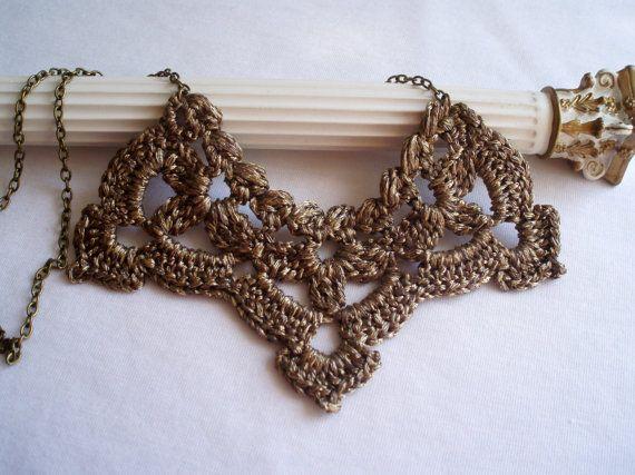 Eleganten viktorianischen Hochzeit Halskette. Hochzeit Armband für ...