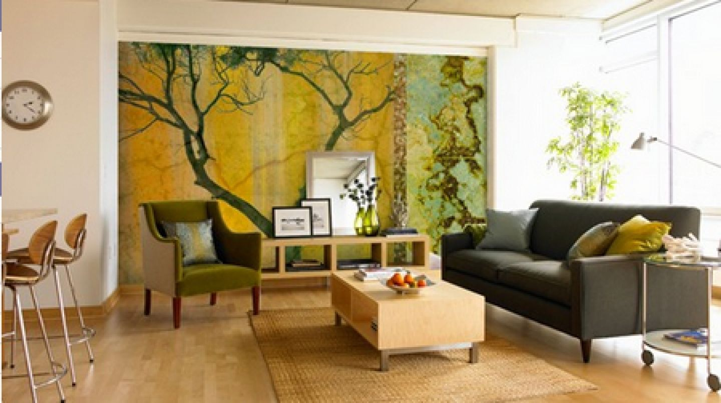 Painted Wall Mural Ideas For Living Room. fine painted wall mural ...