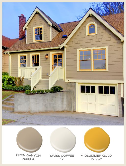 Best Color Of The Month Sunny Yellow Mustard Yellow Trim 400 x 300