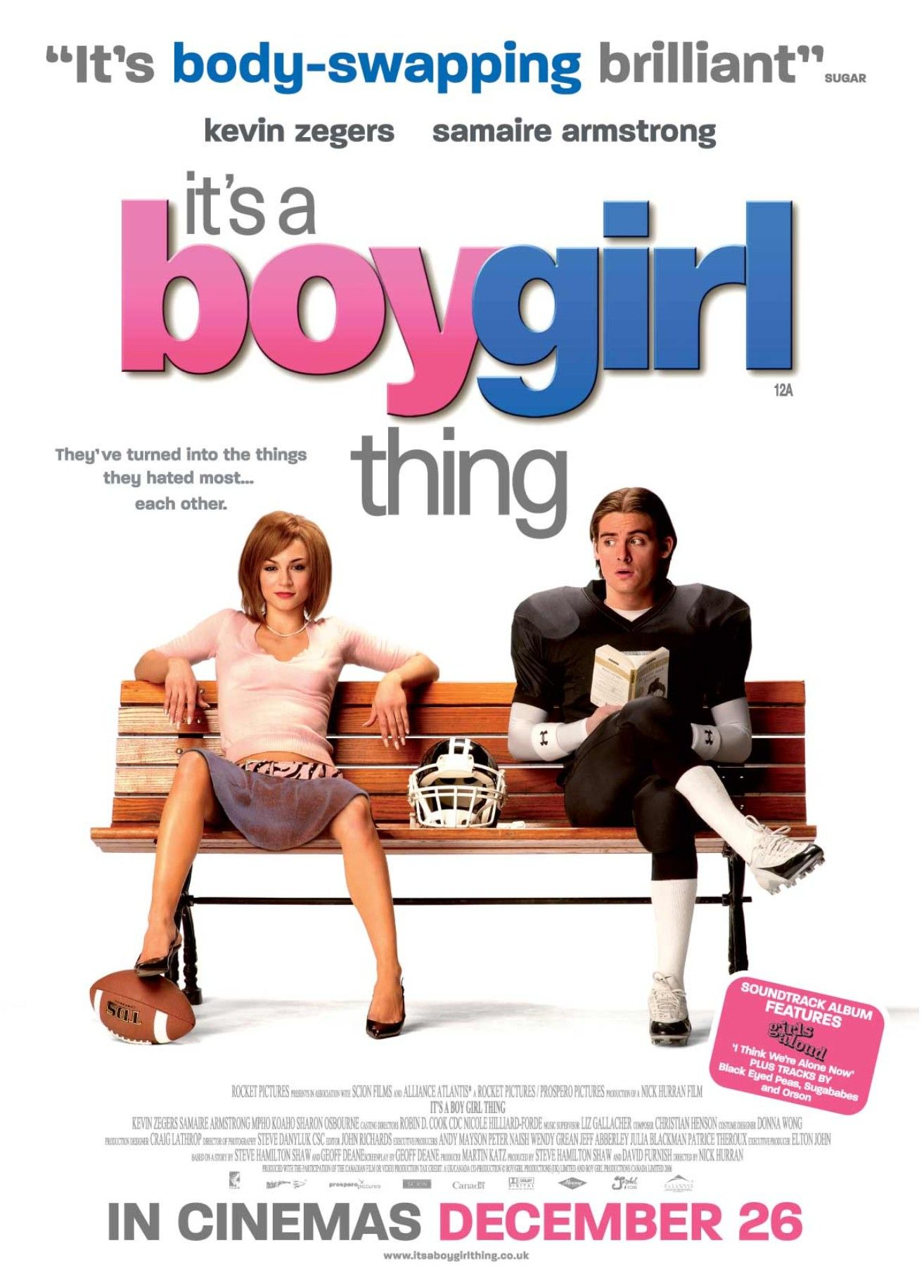 It S A Boy Girl Thing 2006 Film Filmes Engracados Filmes De
