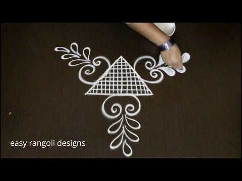 Makar sankranthi festival muggulu simple kolam for pongal easy rangoli designs with dots also rh pinterest