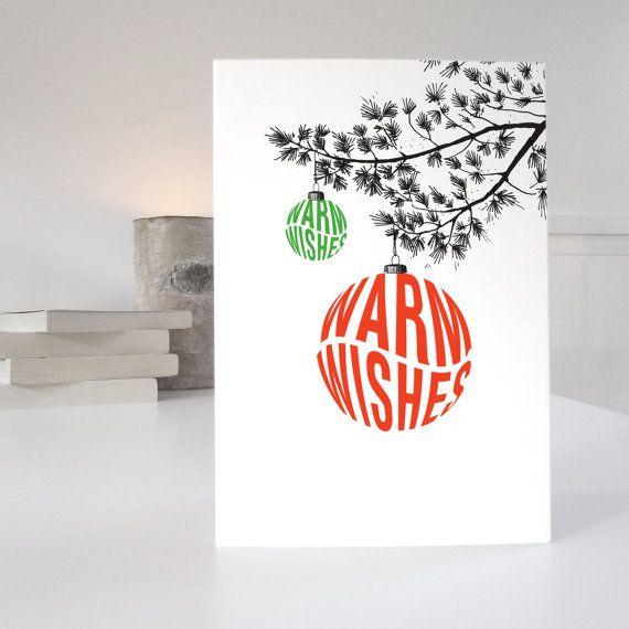Retro warm wishes christmas card retro holiday greeting cards and retro warm wishes christmas card m4hsunfo