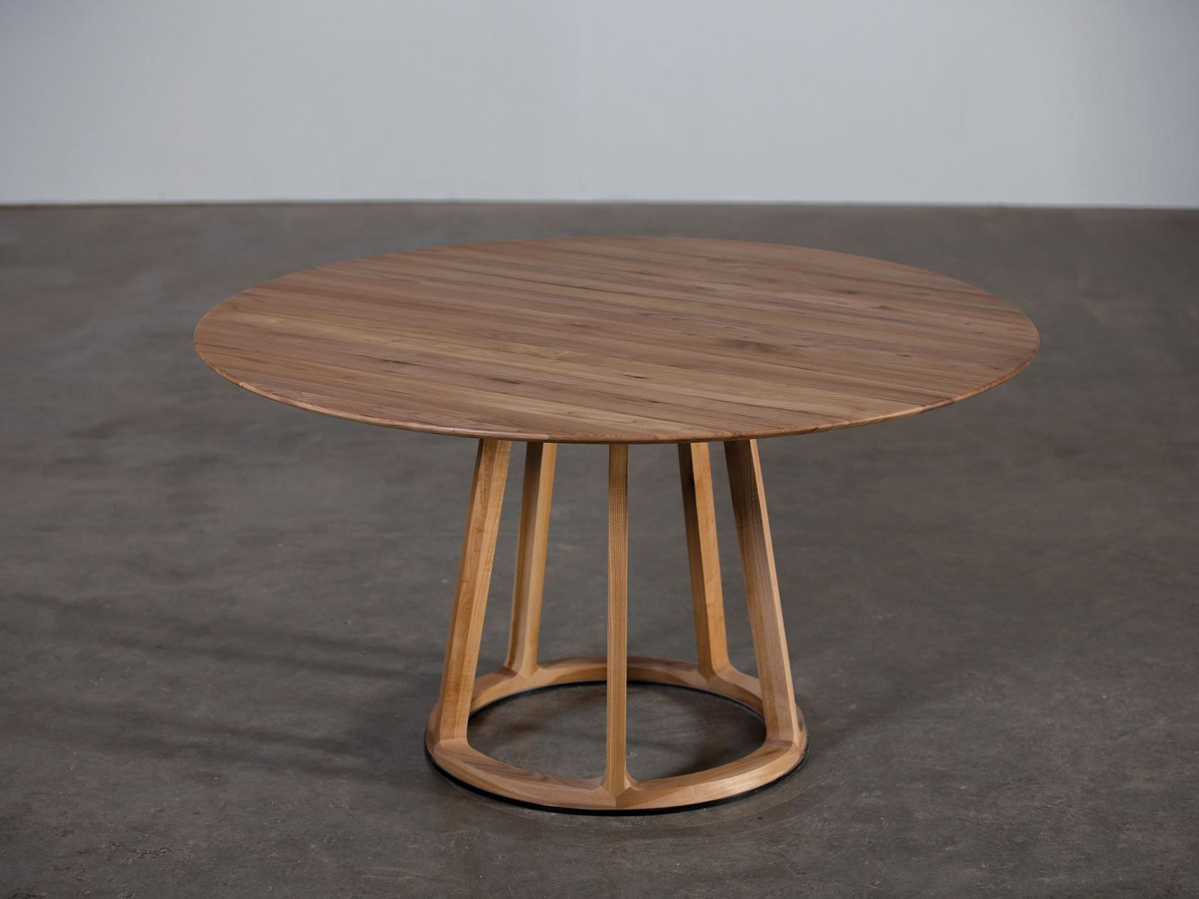 Round Wooden Table Pivot Pivot Collection By Artisan Design Michael Schneider Restaurant Tables Dining Table Round Dining Table