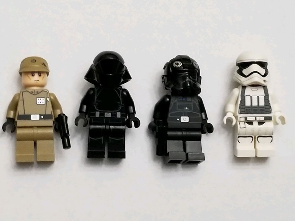 Lego Star Wars Minifigures Imperial Officer Gunner Tie Pilot