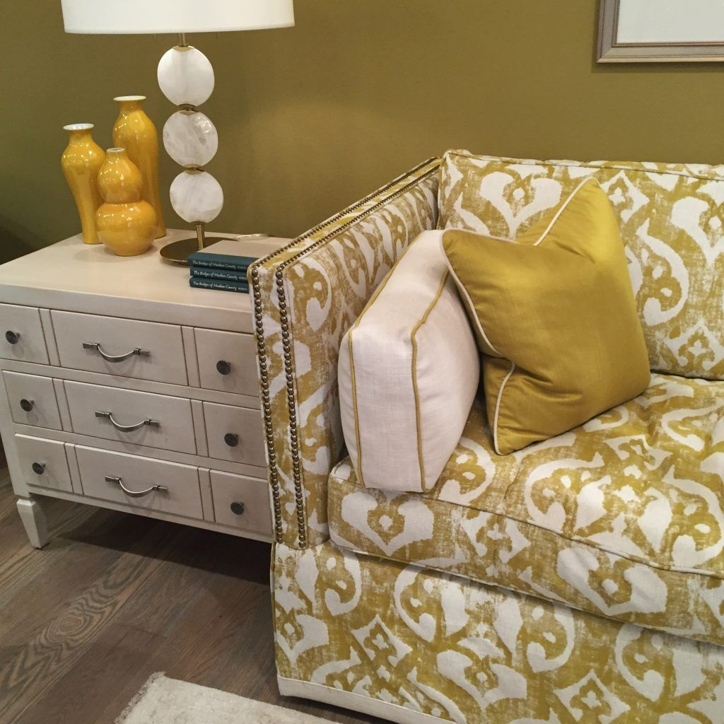 Arianne Bellizaire Inspired To Style Design Trends HPMKT High Point Market  Color Yellow Citrine Elite Furniture